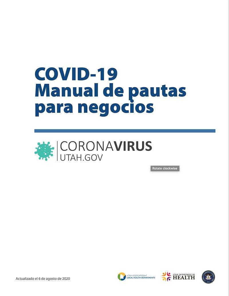 COVID-19 Manual de Pautas para Negocios