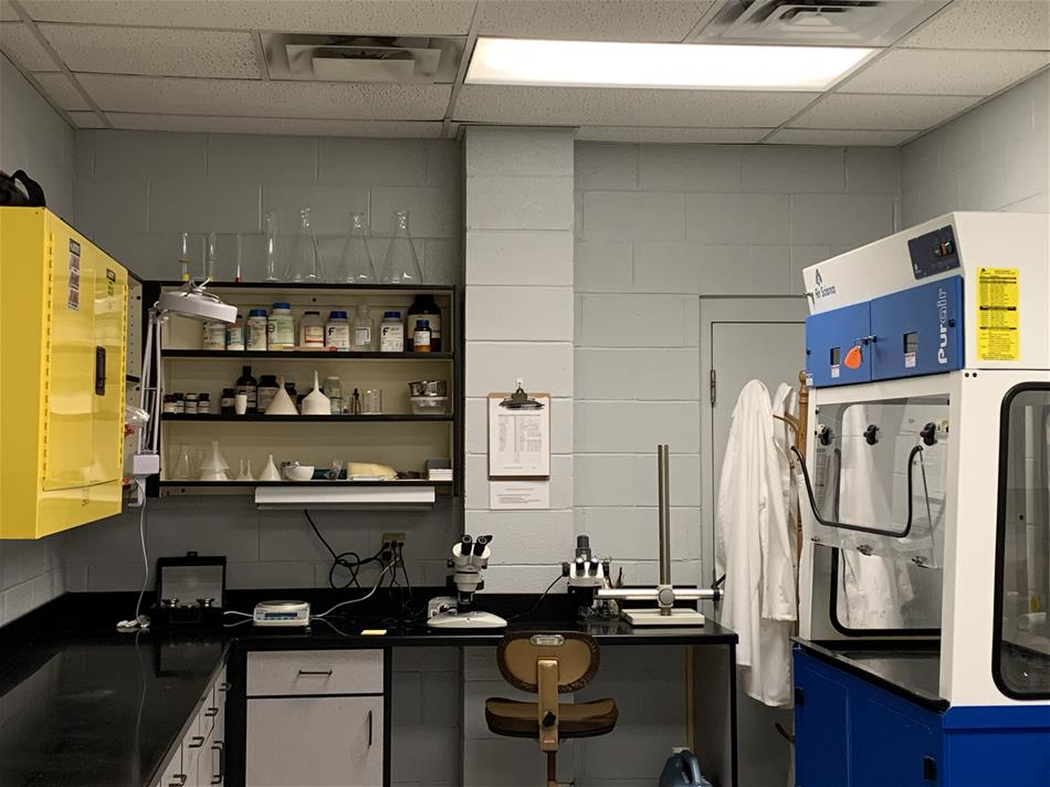 Picture of Crime Lab equipment