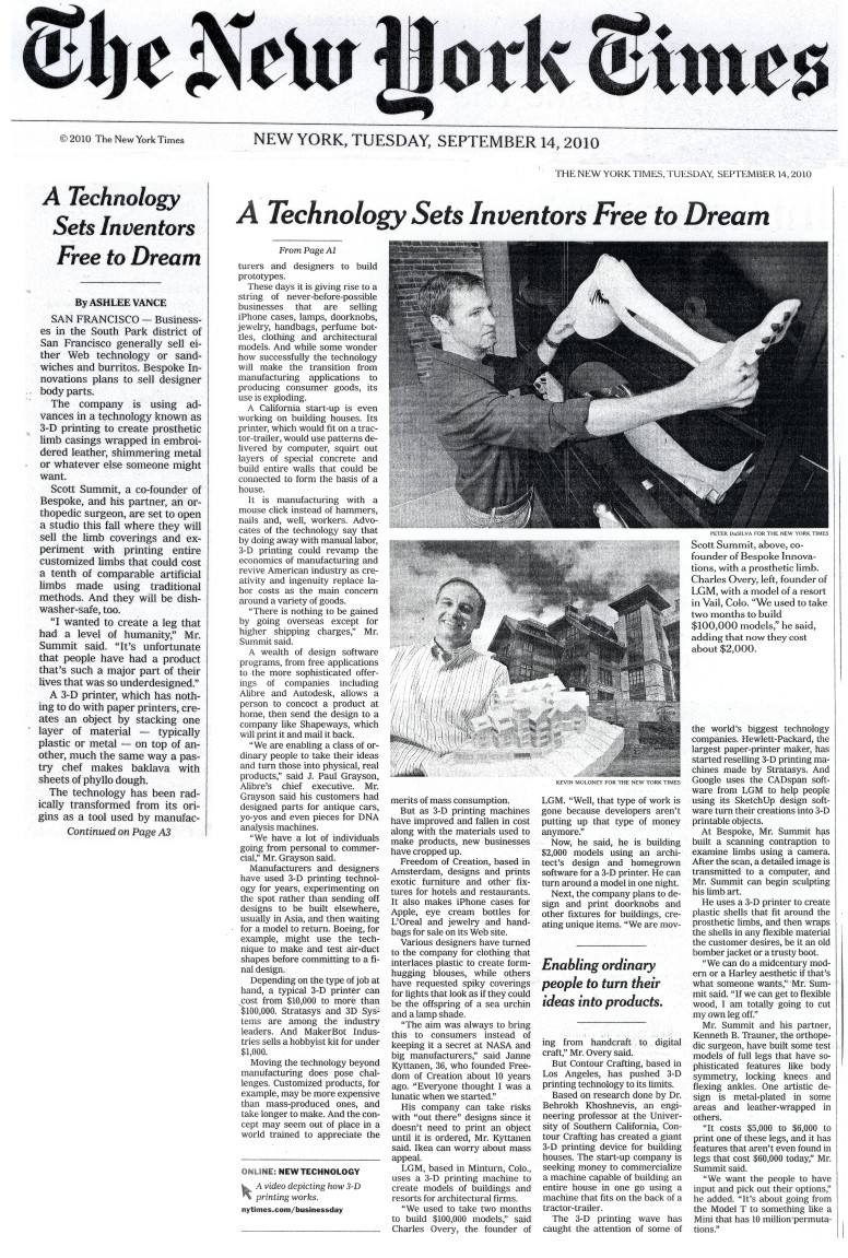 New York Times cover image