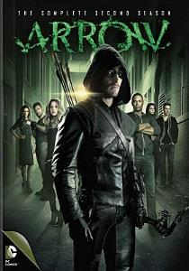 arrow dvd cover