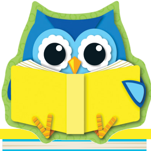 1000 Books Owl square icon