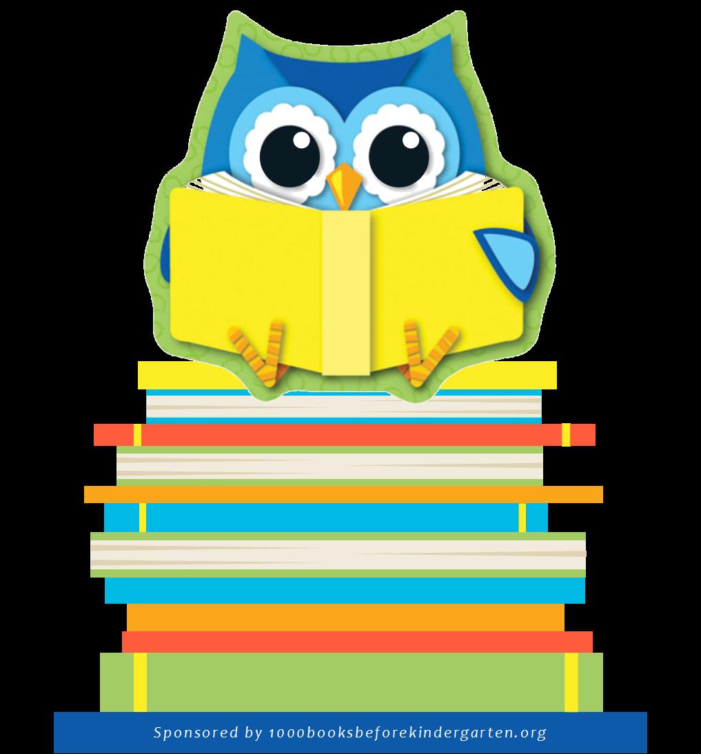 1000 Books Owl