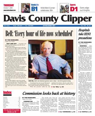 Davis County Clipper cover image